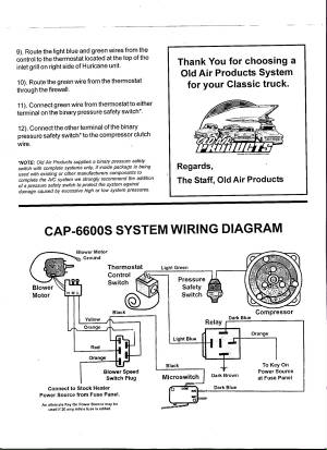 old air installation and wiring rh seanwolff98 tripod com  old air products hurricane wiring diagram